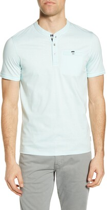 Ted Baker Sirma Slim Fit Short Sleeve Henley