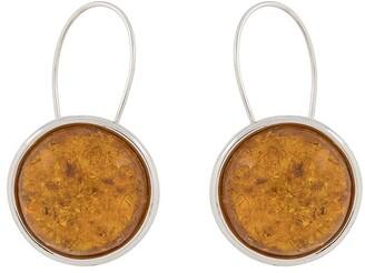 BAR JEWELLERY Arp round earrings
