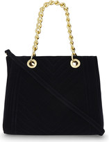 Aldo Nydeawet quilted velvet tote