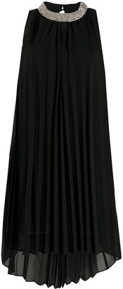 John Richmond Embellished Neck Shift Dress