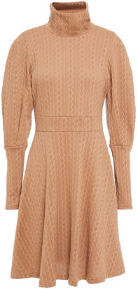 Walter Baker Shannon Flared Jacquard-knit Dress