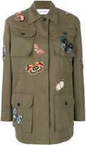 Valentino butterfly patch jacket