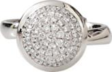 Tamara Comolli Large Diamond Pave Bouton Ring
