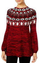 Style And Co. Patterned Knit Sweater