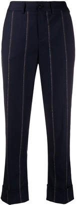 Incotex Striped Trousers