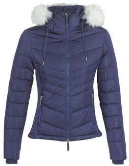 Superdry LUXE FUJI women's Jacket in Blue