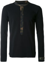 Hydrogen camouflage trim top - men - Cotton - M