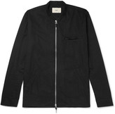 Folk - Cotton-twill Zip-up Shirt