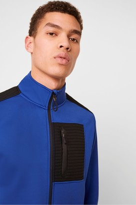 French Connection Tech Zip Sweat
