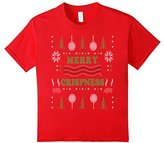 Men's Merry Crispness Bacon Ugly Christmas Sweater 3XL