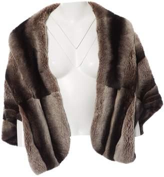 Armani Collezioni Grey Rabbit Jackets
