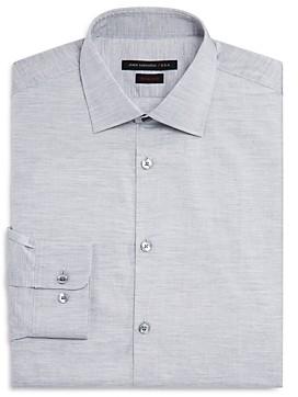 John Varvatos Solid Jersey Regular Fit Dress Shirt
