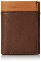 Geoffrey Beene Men's Trifold In Two -Tone Colors