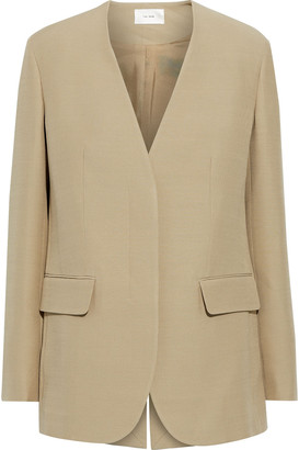 The Row Murray Wool And Silk-blend Cady Jacket