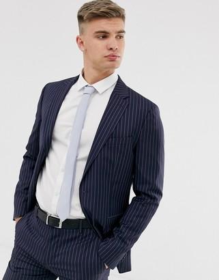 Tommy Hilfiger pinstripe suit jacket