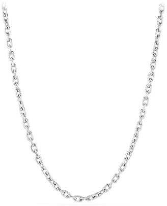 David Yurman Narrow Chain Link Necklace