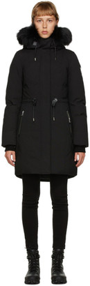 Mackage SSENSE Exclusive Black Down Anabel Jacket