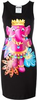 Moschino crowned elephant tank dress