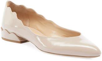 Chloé Laurena Scalloped Ballet Flats