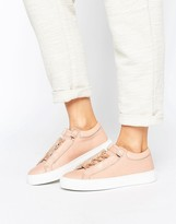 K-Swiss Premium Leather Novo Demi Sneakers In Tan