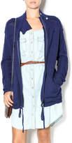 Michael Stars Navy Sweater Jacket
