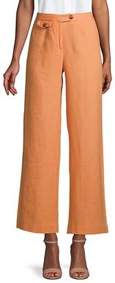 525 America Straight-Leg Linen Pants