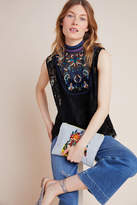 Bl Nk Carmina Embroidered Lace Top