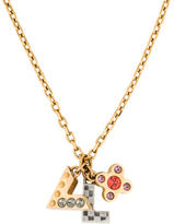 Louis Vuitton Love Letters Pendant Necklace