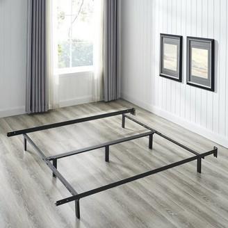 Braeden Heavy Duty Adjustable Size Bed Frame Alwyn Home
