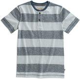 Lucky Brand Dark Denim Stripe Henley - Toddler & Boys