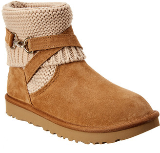 UGG Women's Purl Strap Suede Boot