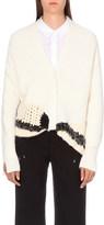 3.1 Phillip Lim Contrast-panel wool-blend cardigan