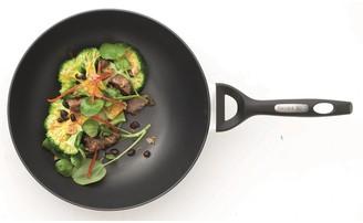 Baccarat iD3 CS Hard Anodised Stir Fry Pan 28cm with Bakelite handle