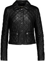 Michael Kors Plong quilted leather jacket