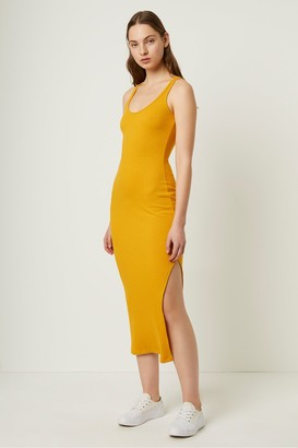 French Connection Tommy Rib Midi Dress
