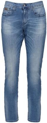 Armani Exchange 10.5oz Medium Wash Jeans
