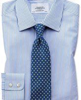 Charles Tyrwhitt Extra slim fit Bengal stripe sky blue shirt