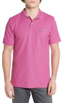 Psycho Bunny Men's Classic Logo Applique Polo