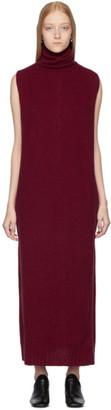 Lemaire Burgundy Tube Dress