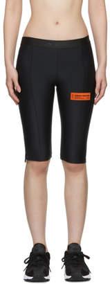 Heron Preston Black Biker Shorts