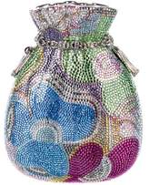 Judith Leiber Crystal-Embellished Pouch Borsettina Minaudière