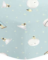 Oliver Gal Sheep Moon Cotton Crib Sheet