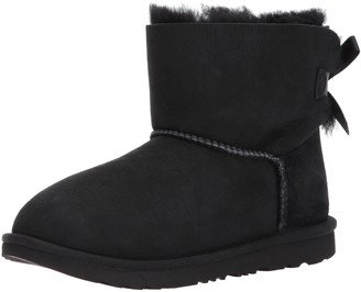UGG Kid's Female Mini Bailey Bow II Classic Boot