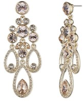 Givenchy Women's Drama Chandelier Crystal Earrings