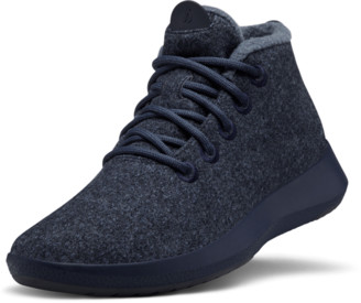 Allbirds Women's Wool Runner-up Mizzles - Savanna Night (Navy Sole)