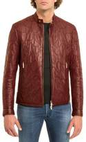 Stefano Ricci Tiled Calf Leather Jacket