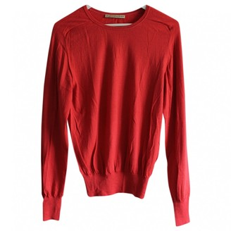 Balenciaga Red Wool Knitwear