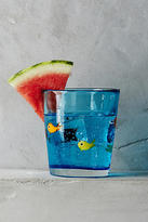 Anthropologie Swimming Fish Glass