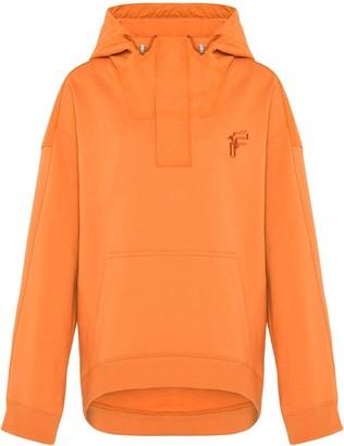 Fenty by Rihanna Dual-fabric oversized hoodie