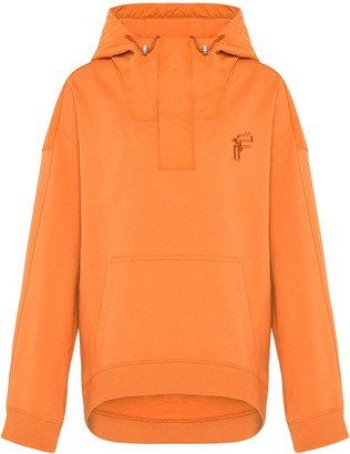 Fenty Dual-fabric oversized hoodie